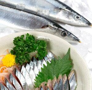 【ふるさと納税】DHAとEPAで健康維持★北海道産「刺身さんま」と「刺身いわし」と「刺身にしん」のセット【計44枚(半身)】