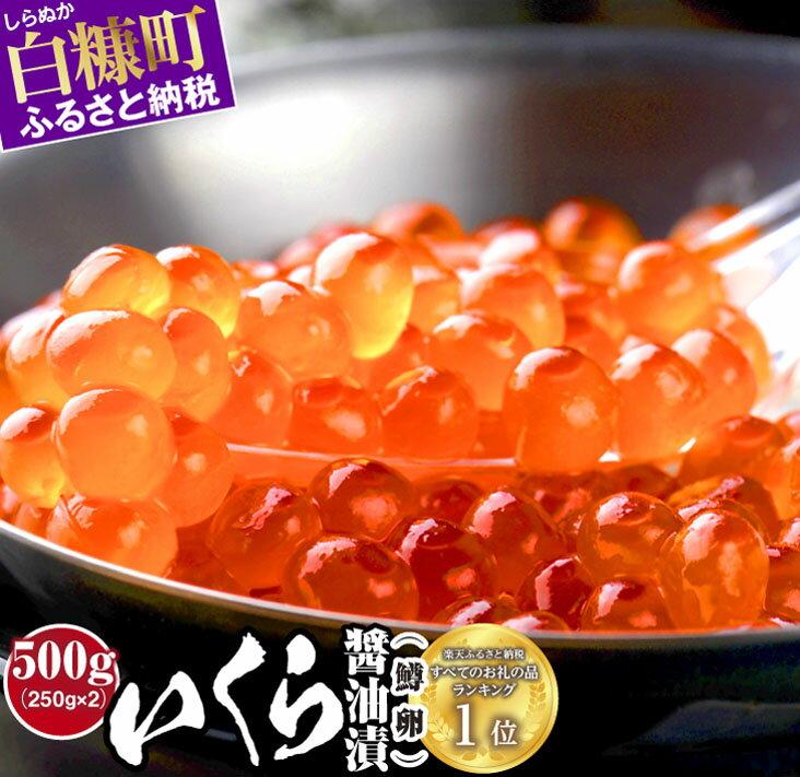 【ふるさと納税】いくら醤油漬(鱒卵)【500g(250g×2)】