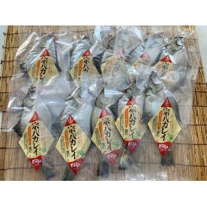 【ふるさと納税】北海道産 宗八カレイ干物10枚 真空パック 【干物・魚貝類・加工食品・魚介類】