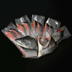 【ふるさと納税】北海道産新巻鮭 半身切身(約1.8kg)【1112940】