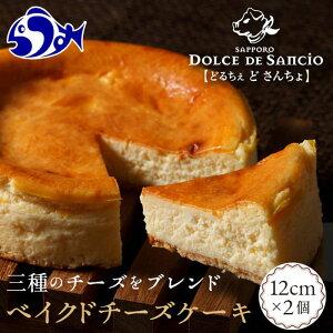 【ふるさと納税】ベイクドチーズケーキ 【羅臼】 F21M-448