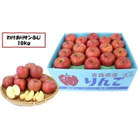 【ふるさと納税】2月〜3月下旬発送「わけあり」サンふじ 約10kg【弘前市産・青森りんご】 【果物類・林檎・りんご・リンゴ・サンふじ・約10kg・訳あり】 お届け:2021年2月下旬〜3月下旬