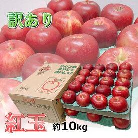 【ふるさと納税】【訳あり】 りんご 約10kg 青森産 紅玉 【10月から順次発送】アップルパイに最適 【果物類・林檎・りんご・リンゴ】 お届け:2020年10月1日〜2020年12月25日