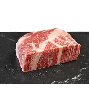 【ふるさと納税】下北牛 カタロース(芯)ステーキ 約300g むつ市【1110776】