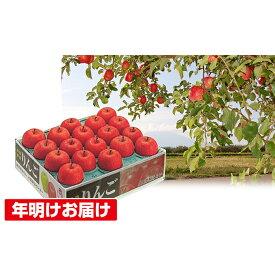 【ふるさと納税】年明け 蜜入り糖度14度以上サンふじ約5kg 青森県平川市産 【果物類・林檎・りんご・リンゴ】 お届け:2020年1月8日〜2020年1月31日