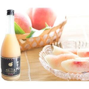 【ふるさと納税】津軽の桃 〜とろりと甘い〜つがるにごり酒720ml×1本 【果物・もも・桃・フルーツ・お酒・洋酒・リキュール】