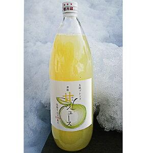 【ふるさと納税】王林ブレンド津軽甘(かん)ジュース1L×6本入り 【飲料類・果汁飲料・りんご・ジュース】