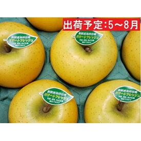 【ふるさと納税】5〜8月 親子三代最高位のシナノゴールド約3kg(新鮮保持技術使用) 【果物類・林檎・りんご・リンゴ】 お届け:2020年5月11日〜2020年8月7日