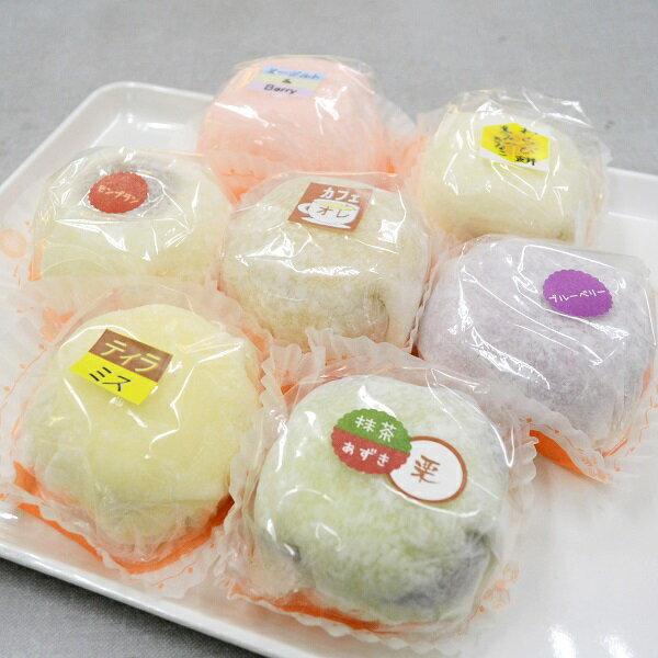【ふるさと納税】薄いお餅でケーキを包み込んだ人気の商品! ケーキ・ド・大福(7個入)
