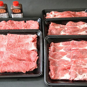 【ふるさと納税】田子牛田子豚焼肉セット『宴』2種2.5kg自家製タレ付【肉の博明】 【豚肉・お肉・牛肉・焼肉・バーベキュー】