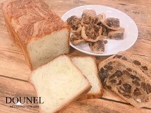 【ふるさと納税】食パン デニッシュ レーズンパン DOUNEL ドーネル パンセット