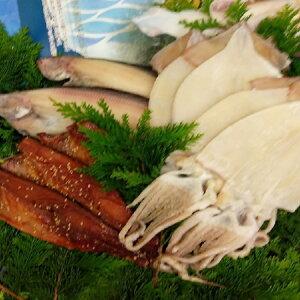 【ふるさと納税】三陸からの贈り物 海産詰合せBC-2(3種)【柳かれい一夜干し、鯖みりん干し、いか一夜干し】 【イカ・魚貝類・干物・鯖・サバ】