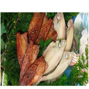 【ふるさと納税】三陸からの贈り物 海産詰合せBC-4(2種)【柳かれい一夜干し、鯖みりん干し】 【鯖・サバ・魚貝類・干物】