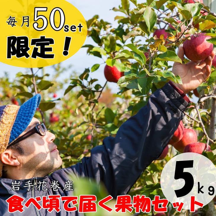 【ふるさと納税】農家から食べ頃で届く果物セット 9〜12月発送予定 《毎月50セット限定》