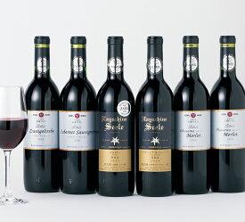 【ふるさと納税】3年連続受賞!国際ワインコンクール2020受賞6本セット 赤 白(720mlx6本)エーデルワイン