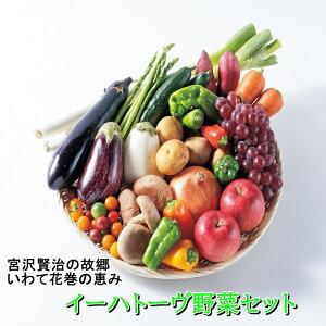 【ふるさと納税】いわて花巻産イーハトーヴ野菜セット 旬 野菜 果物 お楽しみ 詰め合わせ 7〜10品