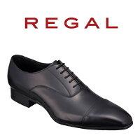 【ふるさと納税】Regal紳士靴ブラック10LRストレートチップ数量限定