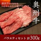 【ふるさと納税】奥州牛バラエティセット(肩ロース100g・モモ100g・バラ100g)