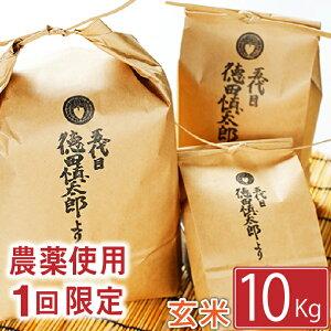【ふるさと納税】 ◆農薬使用1回限定◆ あきたこまち 玄米 10kg 10キロ 岩手県 雫石町 米 産地直送 送料無料 AD-019