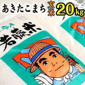 【ふるさと納税】 ◆玄米◆ あきたこまち 約20kg 20キロ 岩手県 雫石町 米 産地直送 送料無料 N-007