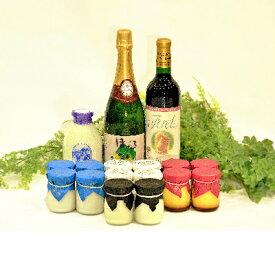 【ふるさと納税】人気ワインと牧場ヨーグルト・プリンセット【1231816】