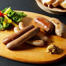 【ふるさと納税】「うちの腸詰めソーセージ」菊池牧場特製!ドイツ仕込みの無添加腸詰めソーセージセット