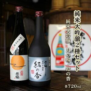 【ふるさと納税】日本酒 飲み比べセット ギフト 純米大吟醸 【月の輪】純米大吟醸2種セット