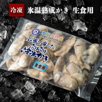 【ふるさと納税】氷温熟成かき生食用(冷凍)300g×6パック