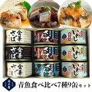 【ふるさと納税】木の屋青魚缶詰食べ比べセット(7種9缶)