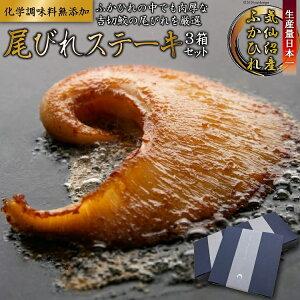 【ふるさと納税】ふかひれの中でも肉厚な吉切鮫の尾びれを厳選して使用した贅沢なステーキ 3箱セット