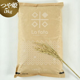 【ふるさと納税】〜令和2年度新米〜こだわりのお米 つや姫5kg