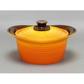 【ふるさと納税】無加水鍋24cm深型 イエロー MKSS-P24D 【雑貨・日用品・キッチン用品・鍋・調理器具】