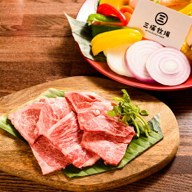 【ふるさと納税】三塚牧場の仙台牛焼肉用 300g