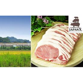 【ふるさと納税】牧場直送JAPAN X 豚ロースステーキ15枚/計1.5kg 【お肉・豚肉】