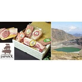 【ふるさと納税】牧場直送JAPAN X グリルセットB/計3.4kg 【お肉・豚肉】