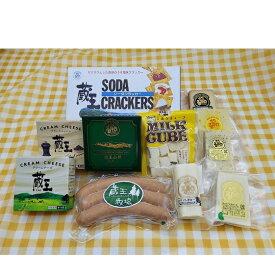 【ふるさと納税】蔵王チーズパーティーセット 【加工食品・乳製品・チーズ・お肉・ソーセージ】