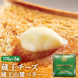 【ふるさと納税】蔵王チーズ 蔵王山麓バター510g(170g×3個) 【バター・牛乳】