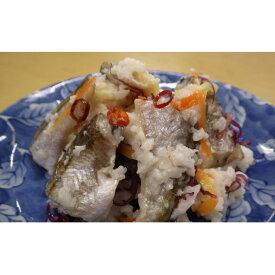 【ふるさと納税】海風丸「ハタハタ切り寿し」150g×4個 【魚貝類・加工食品・お寿司】