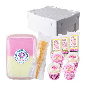 【ふるさと納税】アイスタッパセット&バラ盛りカップ&アイスバー 【お菓子・アイス】