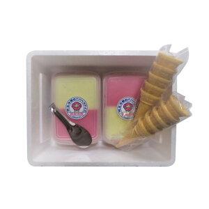 【ふるさと納税】児玉冷菓のババヘラアイスセット 【お菓子・アイス】