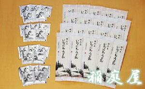 【ふるさと納税】G0601 稲庭屋いなにわうどん1人前×20袋 めんつゆ付
