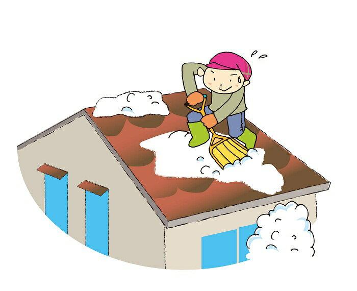 【ふるさと納税】E7701 屋根の雪下ろし代行サービス(作業員2名)
