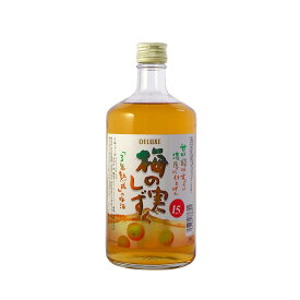 【ふるさと納税】A5103 湯沢の梅酒「梅の実しずく」