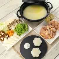 【ふるさと納税】比内地鶏コラーゲン鍋セット