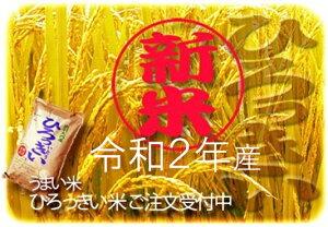 【ふるさと納税】(令和2年産米)D37371 ひろっきい米【無農薬ミルキークイーン10kg】(玄米) 新米 ミルキークイーン 令和2年産