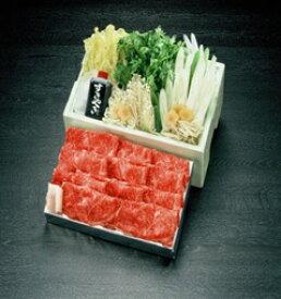 【ふるさと納税】C−01 松尾牛すき焼セット3〜4人前