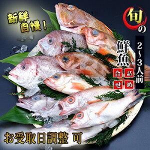 【ふるさと納税】超新鮮な日本海の鮮魚(小・2〜3人前)(下処理済み 魚 詰め合わせ セット 詰合せ) 【魚介・切り身・パック・蟹・カニ】