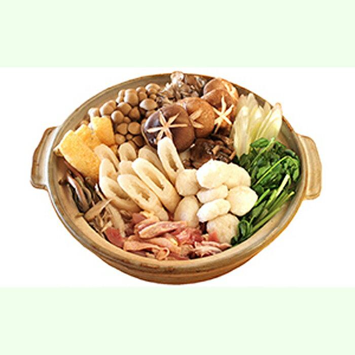 【ふるさと納税】【期間限定お届け!】 地鶏山の芋・キリタンポ鍋セット 4人前