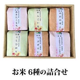 【ふるさと納税】【白米食べ比べ】 仙北市産 6種のお米詰合せ