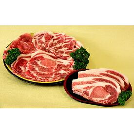 【ふるさと納税】かわい農場産オリジナル豚 白神豚焼肉セット 【お肉・豚肉】 お届け:入金確認後1ヶ月程度